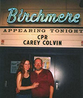 Carey Colvin and Granger Helvey at The Birchmere, opening for CPR